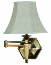 Kenroy Home 20618GBRZ - Mackinley Wall Swing Arm Lamp