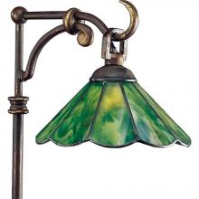Progress P5271-20 - One Light Antique Bronze Tiffany Art Glass Path Light