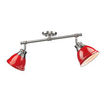 Golden 3602-2SF PW-RD - Semi-Flush - Track Light