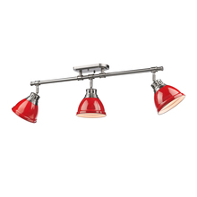 Golden 3602-3SF PW-RD - Semi-Flush - Track Light