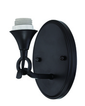 Jeremiah CP1WS-MBK - Design-A-Fixture 1 Light Wall Sconce Hardware in Matte Black