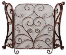 Uttermost 20278 - Uttermost Daymeion Metal Fireplace Screen