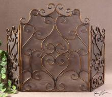Uttermost 20467 - Uttermost Kora Metal Fireplace Screen