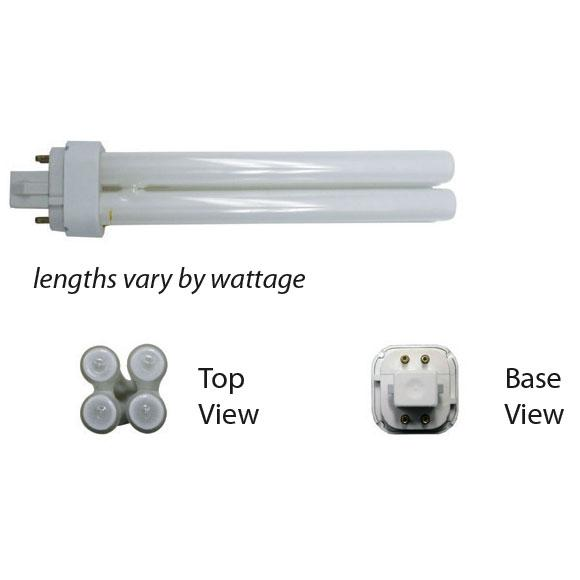 CFL Lamp  G24Q Base 13W 2700K