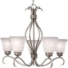 Maxim 10125ICSN - Basix-Single-Tier Chandelier