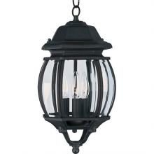 Maxim 1036BK - Crown Hill-Outdoor Hanging Lantern