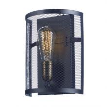 Maxim 20112BKNAB - Palladium 1-Light Wall Sconce