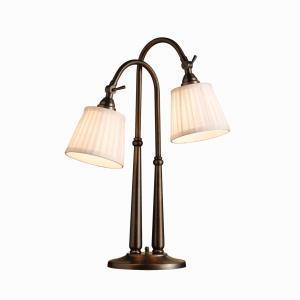 Two light burnished bronze desk lamp 70228bbz aztec lighting inc two light burnished bronze desk lamp mozeypictures Choice Image