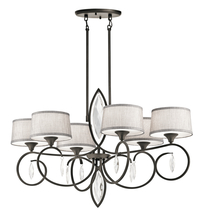 Kichler 43569OZ - Oval Chandelier 6Lt
