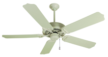 "Craftmade K10172 - Porch Fan 52"" Ceiling Fan Kit in Antique White"