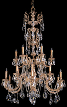 Crystorama 2718-OB-CL-MWP - Crystorama Novella 18 Light Clear Crystal Chandelier