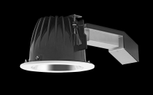 "RAB Lighting RDLED6R26F-50YN-S-W - REMODELER 6"" ROUND 26W 3500K 120- 277V 50 DEGREES SPECULAR CONE WHITE RING"