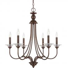 Sea Gull 31318-710 - Six Light Chandelier