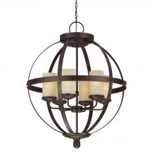 Sea Gull 3190406-715 - Six Light Chandelier