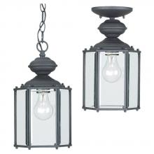 Sea Gull 6008-12 - One Light Outdoor Semi-Flush Convertible Pendant