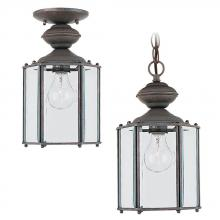Sea Gull 6008-26 - Single-Light Classico Outdoor Pendant