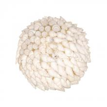 Pomeroy 020063 - Hermit Shell Decorative Sphere In White