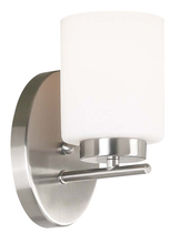 Kenroy Home 80401BS - Mezzanine 1 Light Sconce
